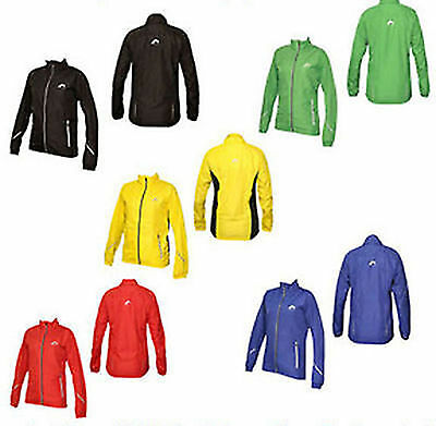 More Mile Ladies Womens Reflective Running Jacket UK 6