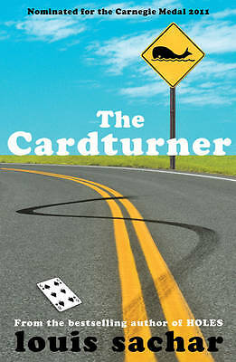 The Cardturner by Louis Sachar (Paperback) New Book