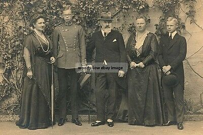 mm866 - King & Queen & Family of Wurttenberg - Royalty photo 6x4