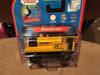 Thomas the Train Wooden Car Duncan 99085 Learning Curve Retired New