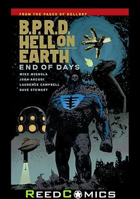 BPRD HELL ON EARTH VOLUME 13 END OF DAYS GRAPHIC NOVEL Collects #135-139