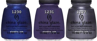 3 China Glaze Nail Polish PUBLIC RELATIONS - SCANDALOUS SHENANIGANS - QUEEN B