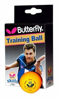 Butterfly skills table tennis balls extra hard quality training ball(Box of 6)