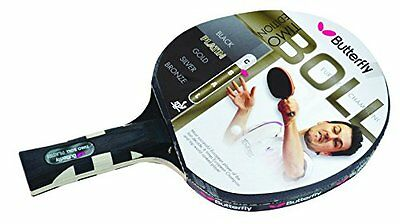 Butterfly Timo Boll platinum table tennis bat anatomic shape handle-multi-colour