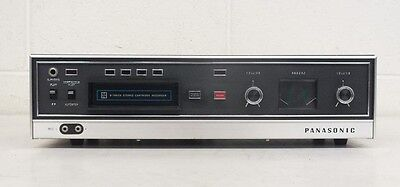 Vintage Panasonic RS-803US 8-Track Stereo Cartridge Recorder Fast Shipping MONO