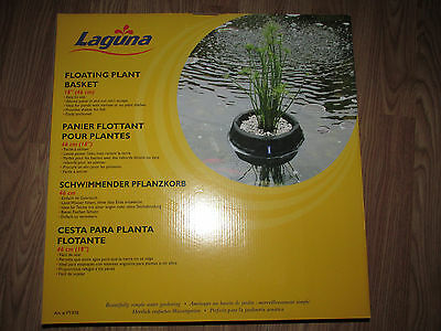 "New LAGUNA 18"" FLOATING PLANT BASKET For Ponds, Water Gardens, Lakes, Etc. Large"