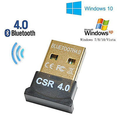 USB Bluetooth Adapter CSR 4.0 Dongle PC LAPTOP Universal Wireless receiver. 011