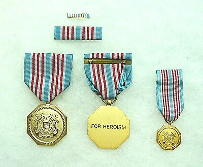 US DEPARTMENT OF Homeland Security, Coast Guard Medal, set of 4