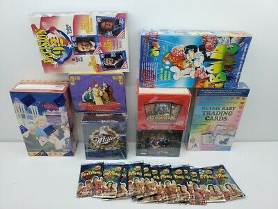8 BOX LOT BLAST FROM THE PAST 90's Trading Cards Factory Sealed + BONUS PACKS
