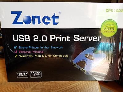 NEW DRIVERS: ZONET PRINT SERVER
