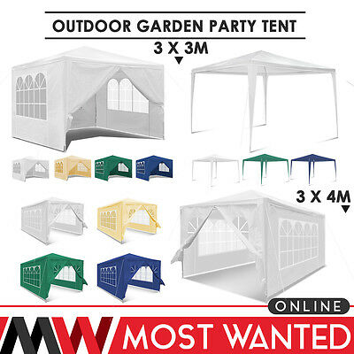 3Mx3M 3MX4M Outdoor Garden Gazebo Marquee Awning Canopy Party Tent