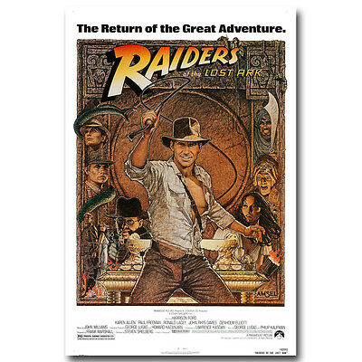 INDIANA JONES and the TEMPLE of DOOM Action Adventure Movie Silk Poster 002