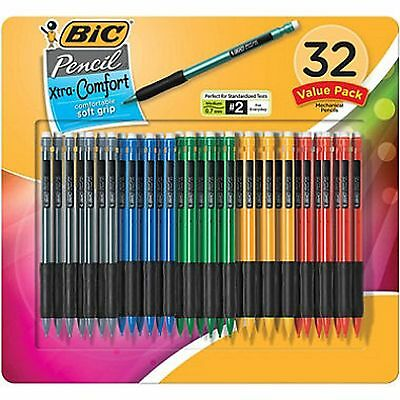 BIC - Matic Grip Mechanical Pencil, HB  2, 0.7mm  32 Pencils