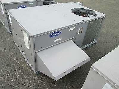 Carrier Rooftop Unit RTU 48TFE006---611-- 5 Ton 460V 3Ph MFD: 2007 Used
