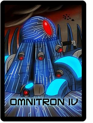 Omnitron IV - Mini Expansion for Sentinels of the Multiverse Card Game
