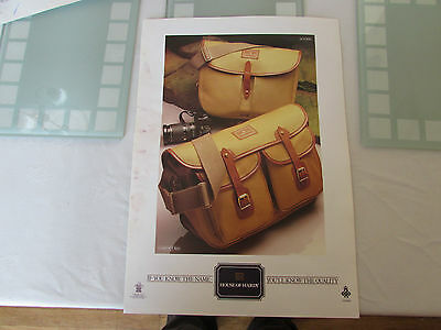 vintage hardy alnwick the aln fly fishing bag poster advert promotional 1