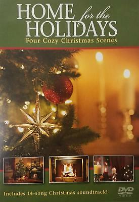 NEW Brookstone Home for the Holidays Four Cozy Christmas Scenes Songs Music DVD