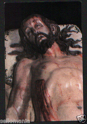 Old Blessed Dead Christ Holy Card Andachtsbild Santini Estampa             Cc959
