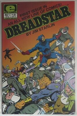 1982  Dreadstar #1  -  Vf/nm                            (Inv5522)