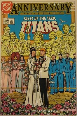 1985 Tales Of The Teen Titans #50  -   Fvf                      (Inv9766)