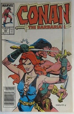 1987 Conan The Barbarian #197  -  Vg                         (Inv5985)