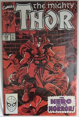 1990 The Mighty Thor #416  -  Vf                         (Inv5732)
