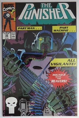 1990 The Punisher #34  - Nm                  (Inv5675)