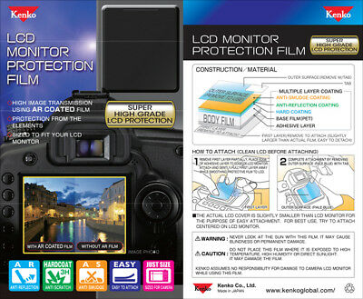 Genuine Kenko Multi-Layer LCD Monitor Protection Film for Canon EOS 5D Mark II