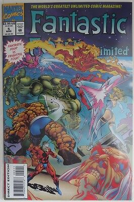 1994 Fantastic Four Unlimited #5   -  Vf                   (Inv9137)