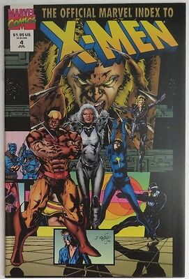 1994 Official Marvel Index To The X-Men #4  -   Vf                 (Inv6486)