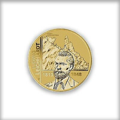 Australian Ludwig Leichhart Joint Issue  2013 Pnc Stamp And $1 Coin Covers