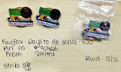 Rare Samples - Set 4 400 Days To Go Sydney 2000 Olympic Games Pins (#106)