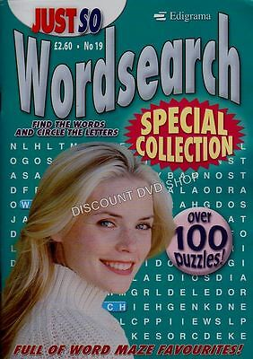 WORD SEARCH PUZZLES SPECIAL COLLECTION ISSUE 19. New Item