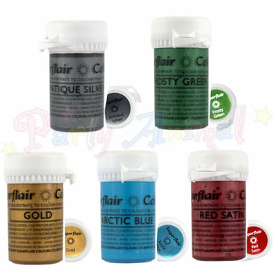 Sugarflair - Satin Paste - Edible Concentrated Food Colouring, cake decoration