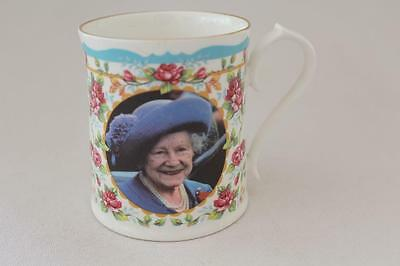Aynsley Limited Edn Bone China Late Queen Mother Centenary 100th Birthday Mug