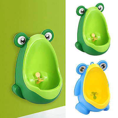 Newest Child's Toddler Kid Baby Boy Frog Potty Urinal Pee Toilet Training Tool