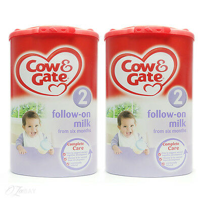 Cow & Gate Follow On Milk Stage 2 From 6 Months+ 900g x2