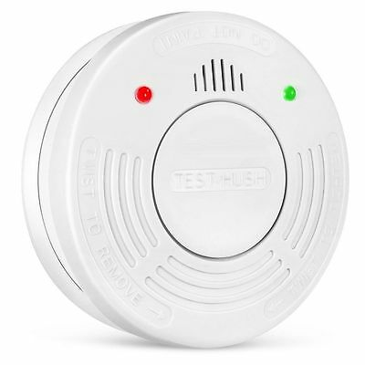 Fire Alarm 10-Year Extended Battery Life Smoke Detector Sensor by Crimson Guard