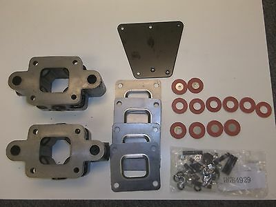 """3 INCH Mercruiser Manifold to Riser 3"""" Dry Joint Spacer Kit 864929A3 HGE 4929pr"""