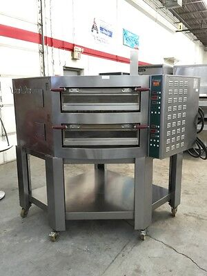 Cuppone EV935/2 - Evolution Electric Double Deck Pizza Oven - Refurbished