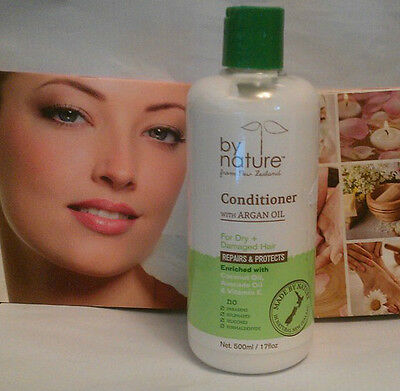 By Nature With Argan Oil Conditioner 500ML ~ For Dry & Damaged Hair