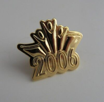 2006 Gold Tone Olympic Pin   (Inv1598)
