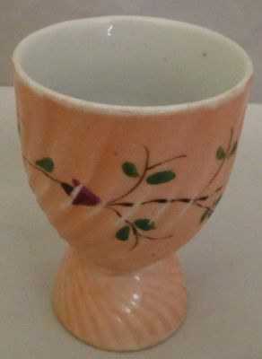 Large 3 1/2 Inch Tall Flower Egg Cup