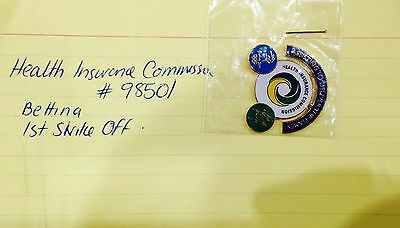 Rare Samples - Health Insurance Commission Sydney 2000 Olympic Games Pins (#126)