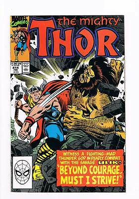 Thor # 414 Beyond Courage Must I Strive ! grade - 9.0 hot book !!
