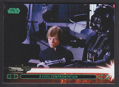 Topps Star Wars - Jedi Legacy - Green Parallel Card # 37A
