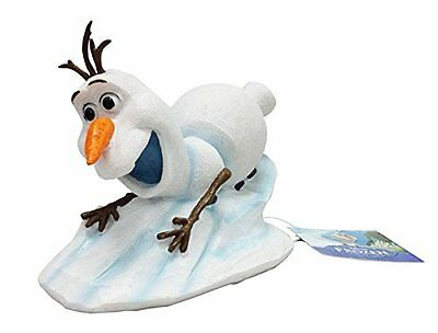 Frozen Aquarium Ornament ~ Olaf Snowman Slide ~ Goldfish Bowl Fish Tank Decor