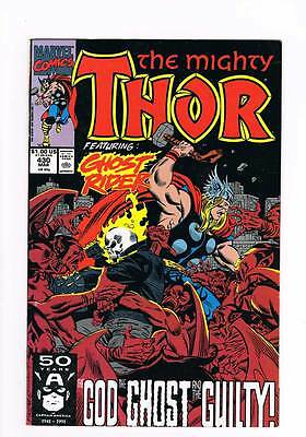 Thor # 430 The God, the Ghost, and the Guilty ! grade - 9.0 hot book !!