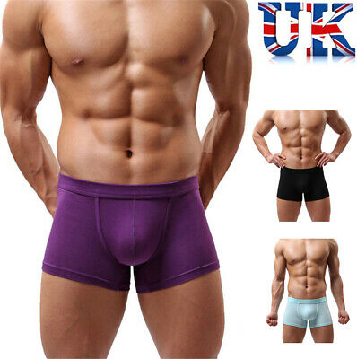 Mens Sexy Cotton Boxers **4 Colours**Medium & Large**UK Seller**