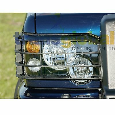 Land Rover Discovery 2 Face Lift Head Light Lamp Guards 2003 on - STC53193